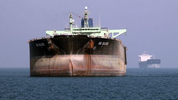 Tankowiec w Iranie - Sputnik Polska