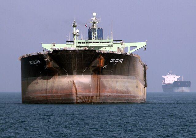 Tankowiec w Iranie