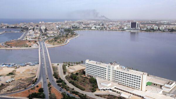 Panorama na libijskie miasto Bengazi - Sputnik Polska