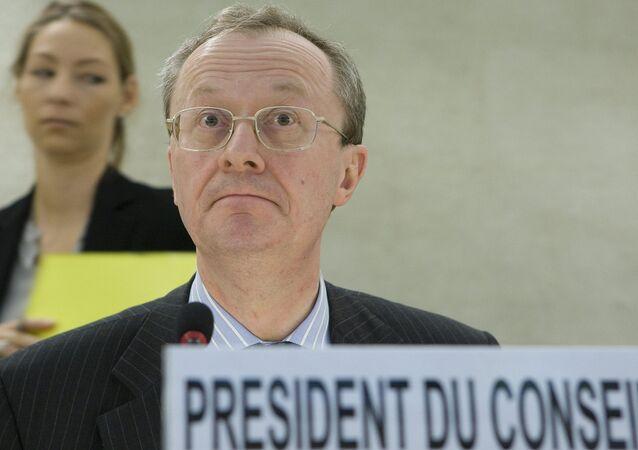 Ambasador Belgii w Moskwie Alex van Meeuwen