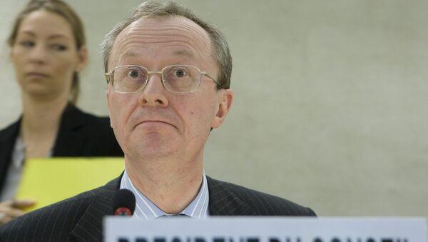 Ambasador Belgii w Moskwie Alex van Meeuwen - Sputnik Polska
