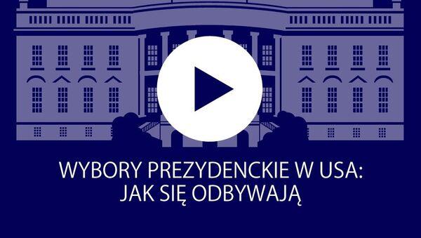 Infografika: Wybory prezydenckie w USA - Sputnik Polska