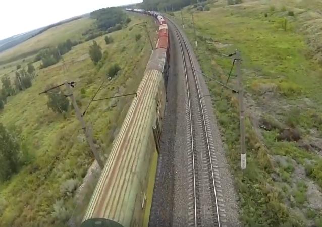 Wyścigi dronów po rosyjsku
