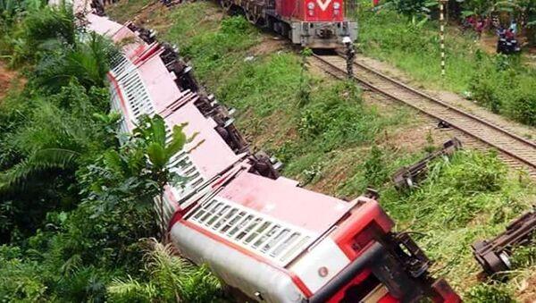 Katastrofa kolejowa w Kamerunie - Sputnik Polska