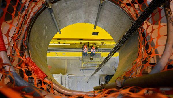 Przechowalnik zużytego mokrego paliwa jądrowego w strefie wykluczenia wokół Czarnobylskiej Elektrowni Jądrowej - Sputnik Polska