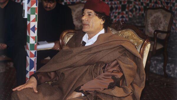 Muammar Kaddafi - Sputnik Polska