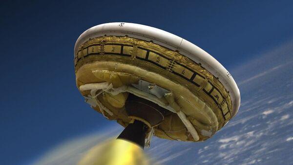 Naddźwiękowy moderator do lądowania na Marsie - Sputnik Polska