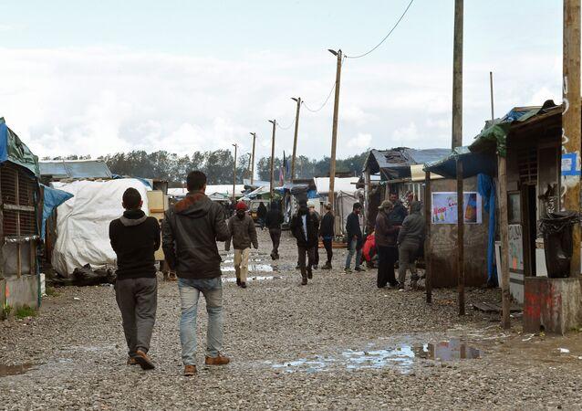 Obóz dla imigrantów w Calais