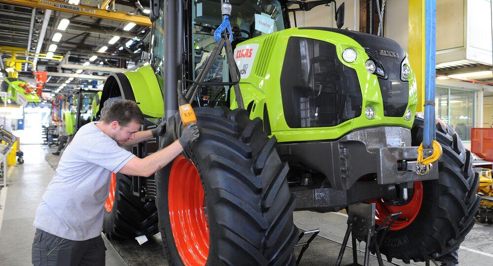 Jeden z czołowych producentów sprzętu rolniczego na świecie — niemiecka spółka Claas