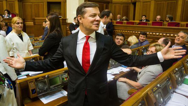Lider Partii Radykalnej Ukrainy Ołeh Laszko - Sputnik Polska