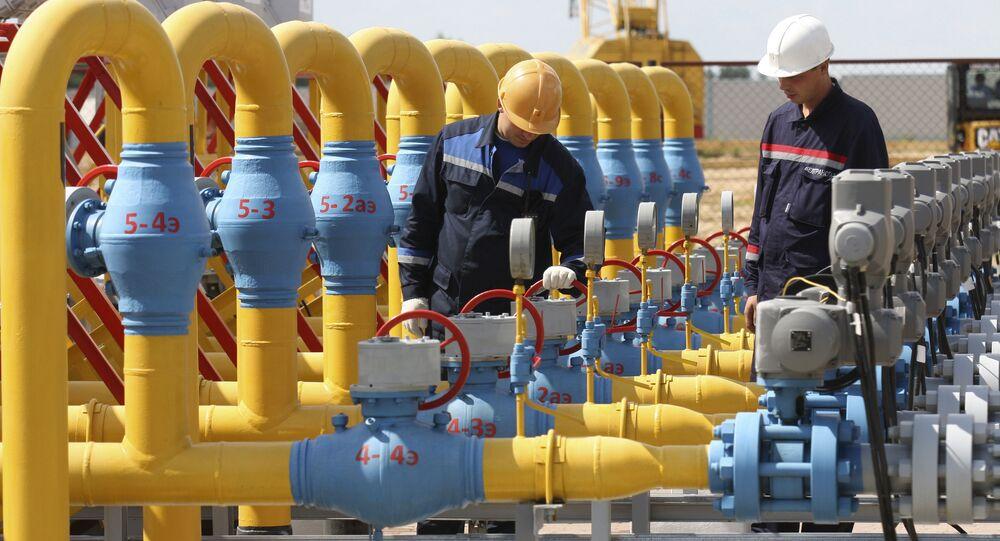 Magazyn gazu Mozyrski w obwodzie homelskim