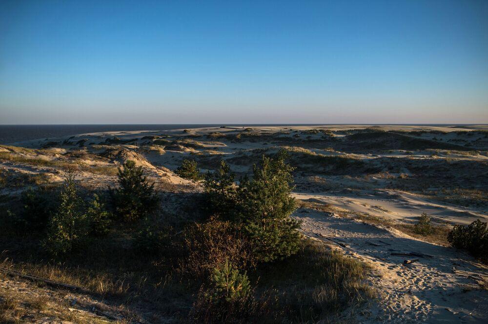 Mierzeja Kurońska ukształtowała się w wyniku wzajemnego oddziaływania morza, wiatru i obecności człowieka.  Piaskowe wydmy na Mierzei Kurońskiej należą do najwyższych w Europie.