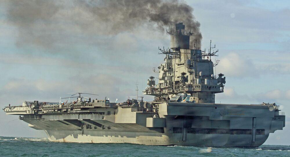 """Lotniskowiec """"Admirał Kuzniecow"""