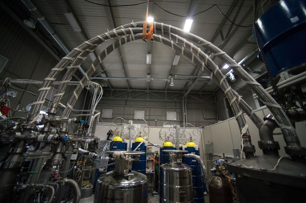 Laboratorium eksperymentalnej fizyki jądrowej.