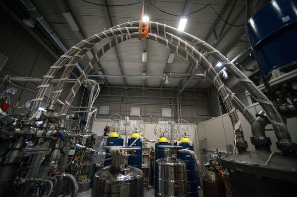 Laboratorium eksperymentalnej fizyki jądrowej. - Sputnik Polska