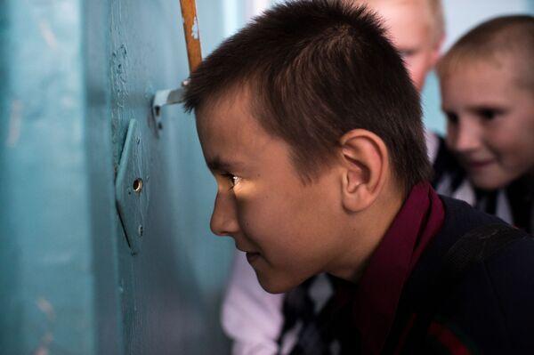 Dzieci podczas przerwy w szkole we wsi Butakowo w obwodzie omskim - Sputnik Polska