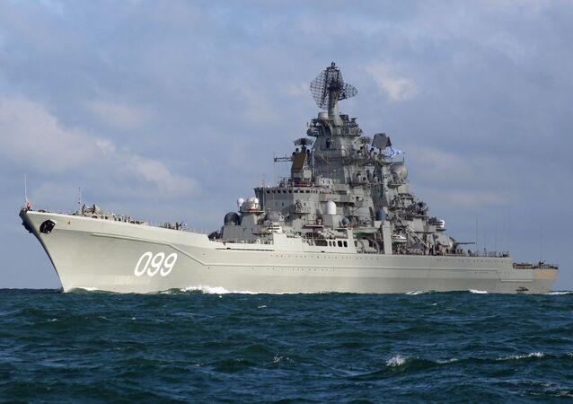 Krążownik Piotr Wielki