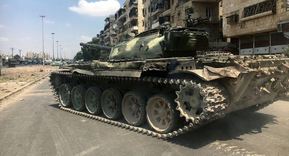 Południowo-wschodnia część Aleppo
