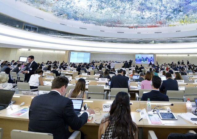 Posiedzenie Rady Praw Człowieka ONZ