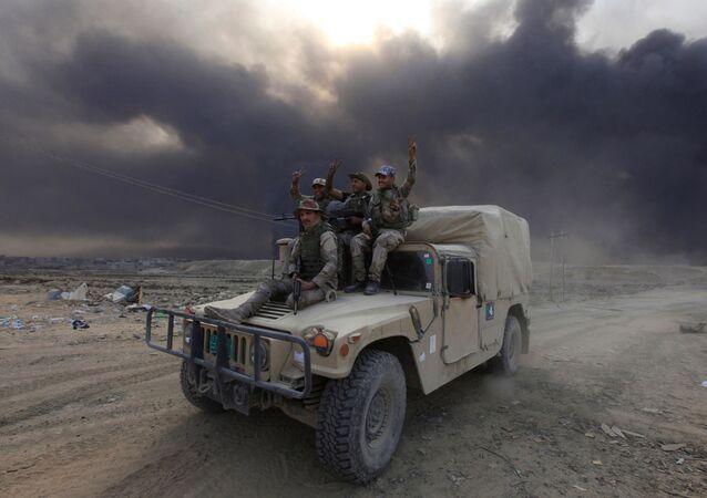 Wojskowi irackiej armii