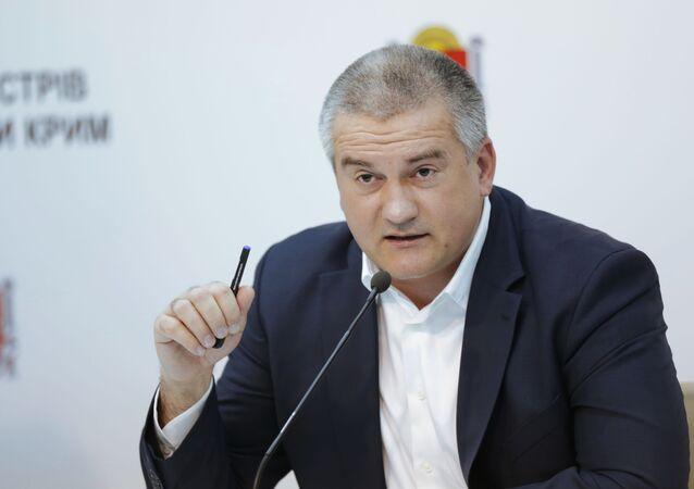 Szef republiki Siergiej Aksionow