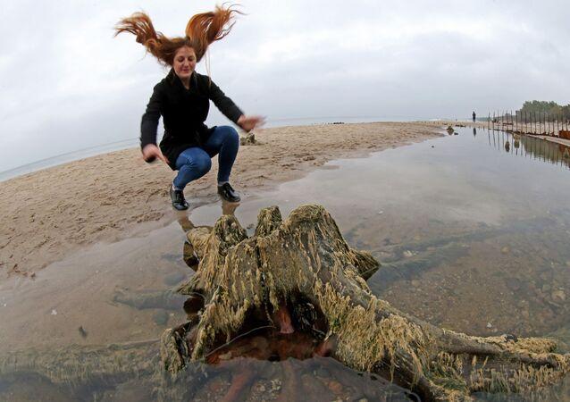 Cofanie się Morza Bałtyckiego jest związane z długotrwałym działaniem wschodniego wiatru.
