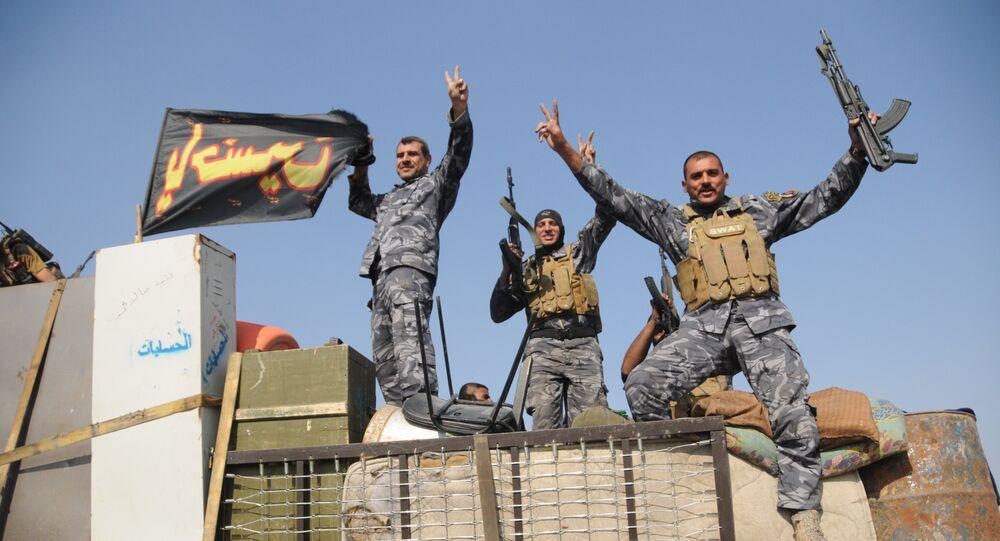 Iracka armia niedaleko Mosulu
