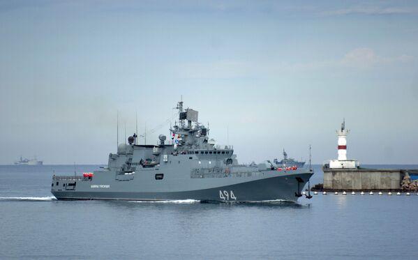 Okręt patrolowy Admirał Grigorowicz - Sputnik Polska