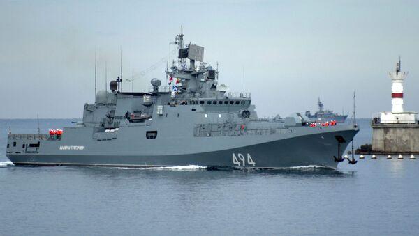"""Rosyjska fregata """"Admirał Grigorowicz"""" - Sputnik Polska"""