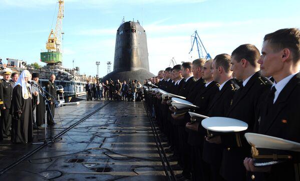 Okręt podwodny o napędzie atomowym Dmitrij Donskoj - Sputnik Polska