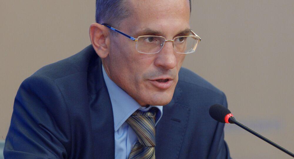 Dyrektor naukowy Rosyjskiego Towarzystwa Wojskowo-Historycznego Michaił Miagkow
