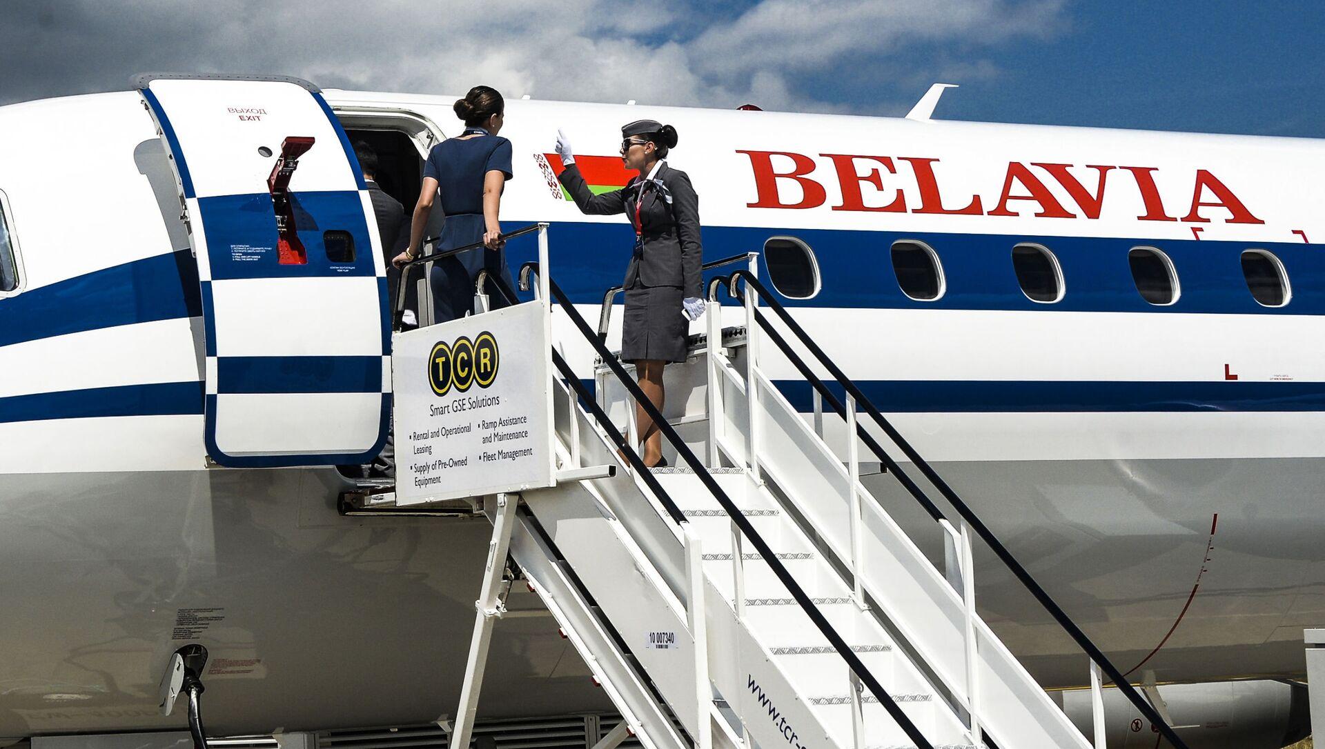 Białoruskie linie lotnicze Belavia - Sputnik Polska, 1920, 26.05.2021