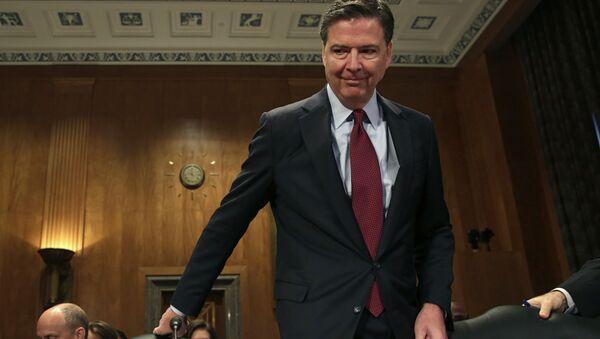 Dyrektor FBI James Comey w Waszyngtonie - Sputnik Polska
