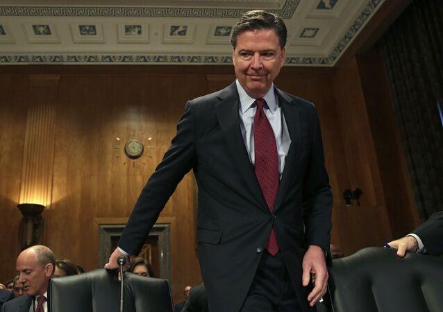Dyrektor FBI James Comey w Waszyngtonie