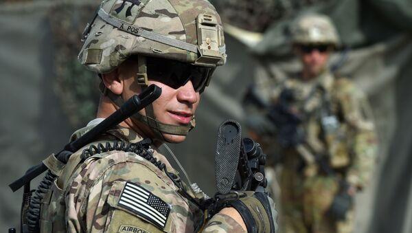 Amerykański wojskowy w Afganistanie - Sputnik Polska
