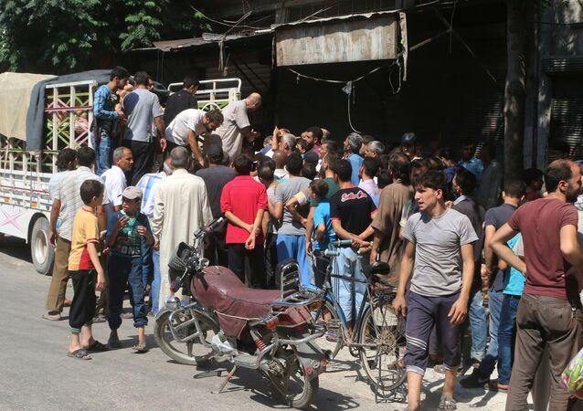 Sytuacja humanitarna w Aleppo