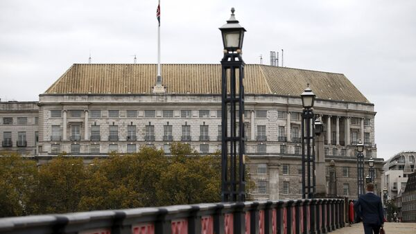 Thames House, the headquarters of the British Security Service (MI5) is seen in London, Britain October 22, 2015 - Sputnik Polska