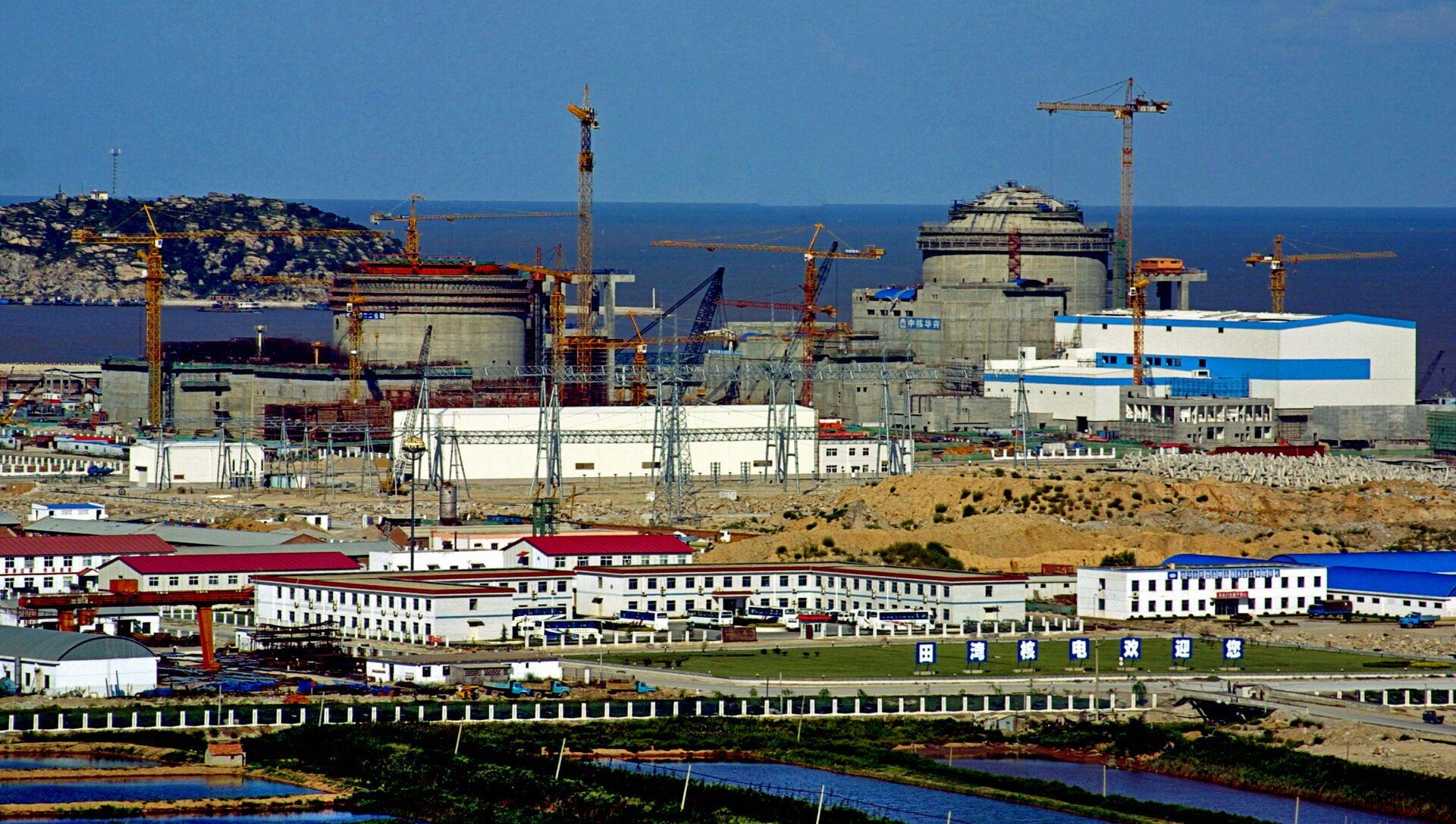 Elektrownia atomowa w Tianwan. Chiny - Sputnik Polska, 1920, 19.05.2021