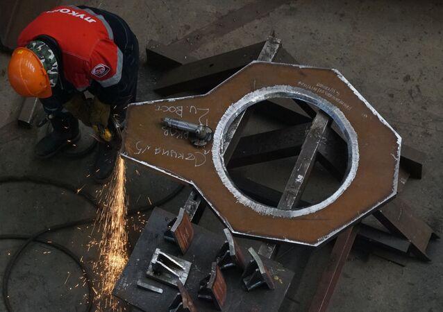 Hala produkcyjna przedsiębiorstwa Kliver w obwodzie kaliningradzkim