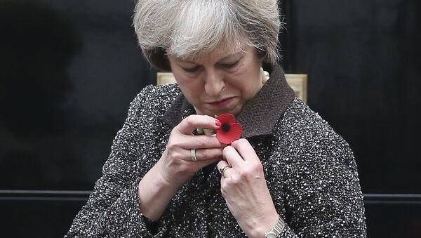 Theresa May - Sputnik Polska