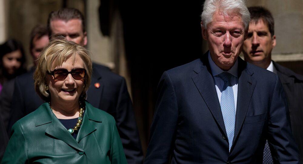 Bill i Hillary Clintonowie