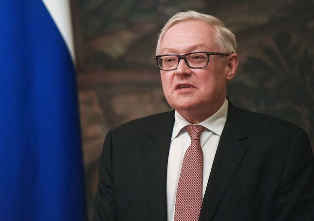 Wiceszef MSZ Rosji Siergiej Riabkow
