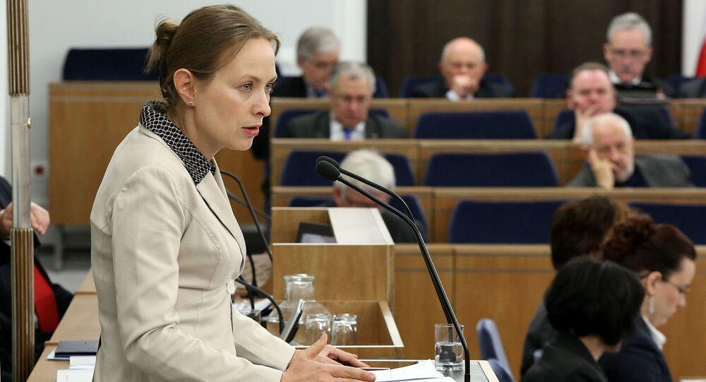 Była ambasador Polski w Moskwie Katarzyna Pełczyńska-Nałęcz