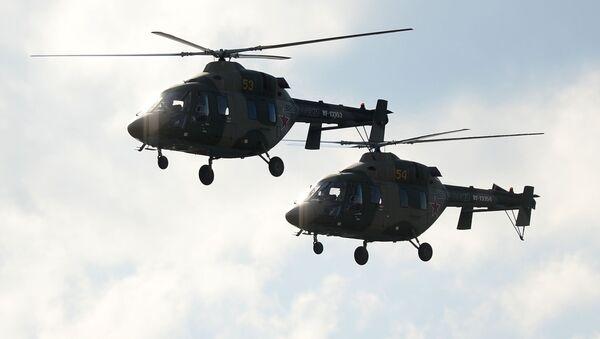 Helikoptery Ansat-U - Sputnik Polska