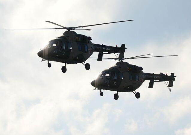 Helikoptery Ansat-U
