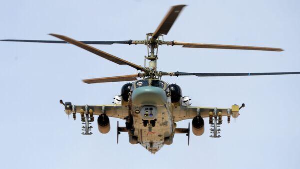 Śmigłowiec Ka-52 - Sputnik Polska