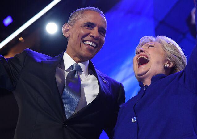 Barack Obama i Hillary Clinton