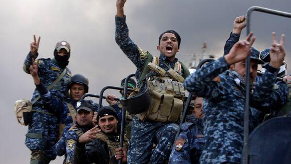 Armia iracka szturmuje ostatnie miasto na drodze do Mosulu - Sputnik Polska
