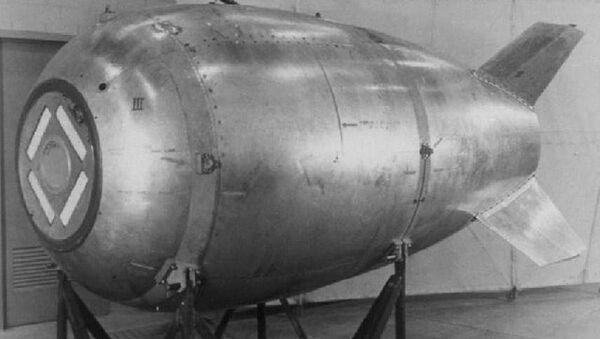 Amerykańska bomba atomowa Mark 4 - Sputnik Polska