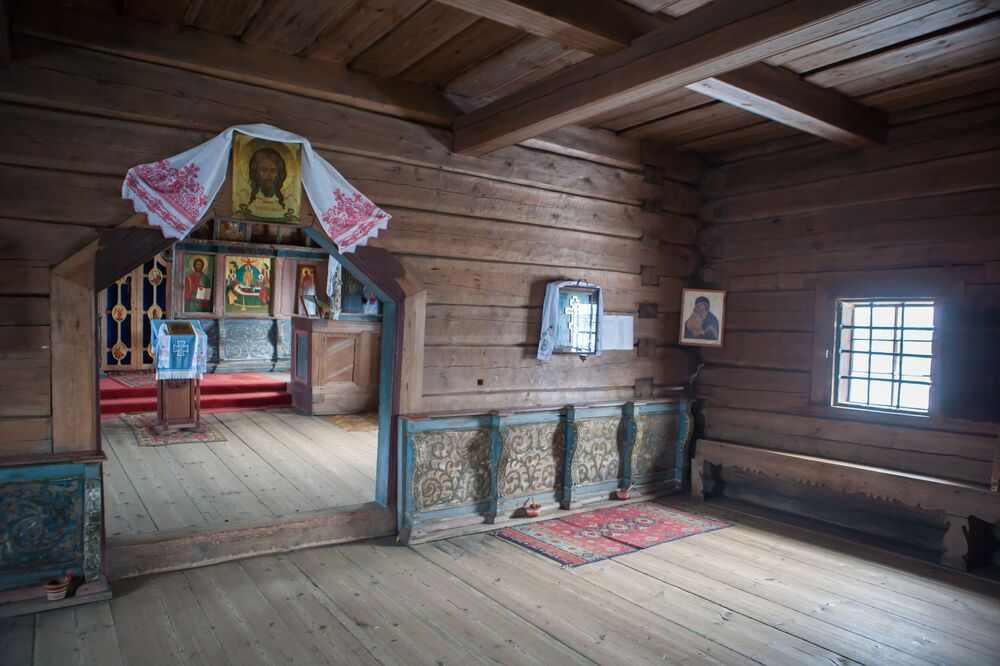 Cerkiew nie była przebudowywana, została jednak trzykrotnie odrestaurowana.